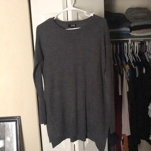 A.N.A grey long sleeve sweater